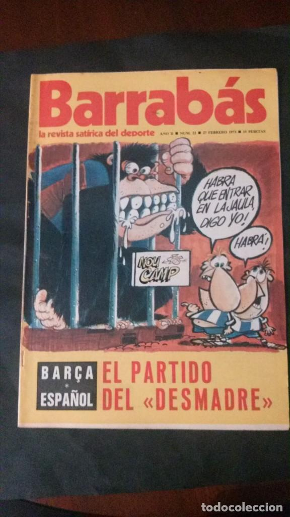 BARRABAS 22-1973 (Coleccionismo Deportivo - Revistas y Periódicos - Barrabás)