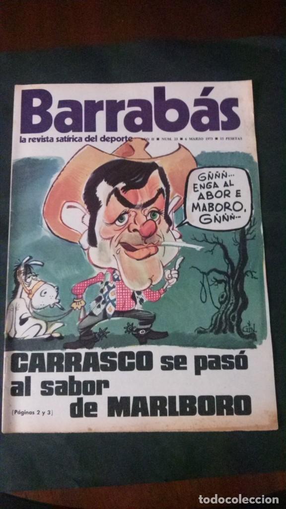 BARRABAS 23-1973 (Coleccionismo Deportivo - Revistas y Periódicos - Barrabás)