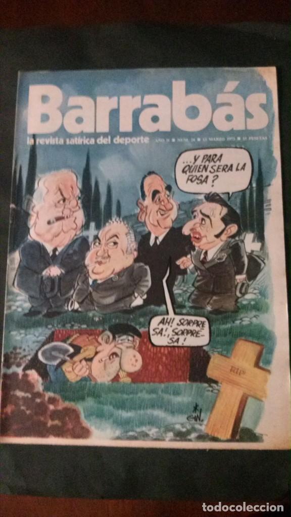 BARRABAS 24-1973 (Coleccionismo Deportivo - Revistas y Periódicos - Barrabás)
