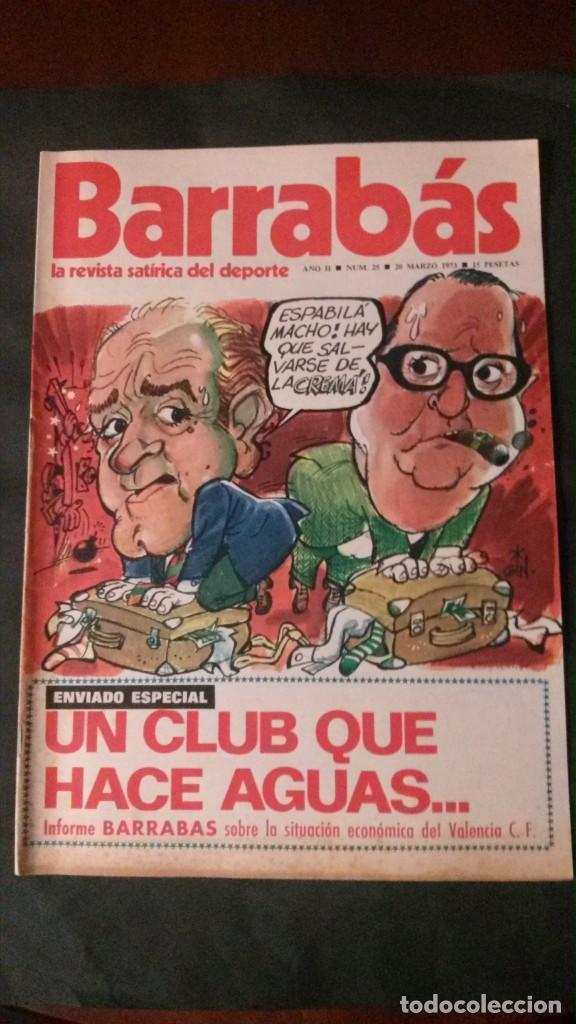 BARRABAS 25-1973 (Coleccionismo Deportivo - Revistas y Periódicos - Barrabás)