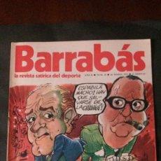 Coleccionismo deportivo: BARRABAS 25-1973. Lote 135909694