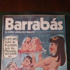 Coleccionismo deportivo: BARRABAS 26-1973. Lote 135909754