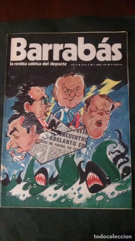 BARRABAS 27-1973 (Coleccionismo Deportivo - Revistas y Periódicos - Barrabás)