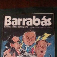 Coleccionismo deportivo: BARRABAS 27-1973. Lote 135909806