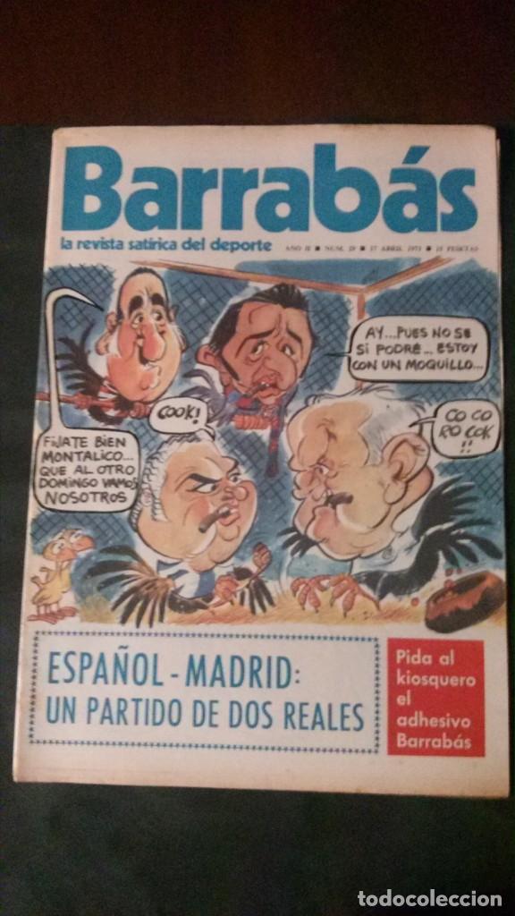 BARRABAS 29-1973 (Coleccionismo Deportivo - Revistas y Periódicos - Barrabás)