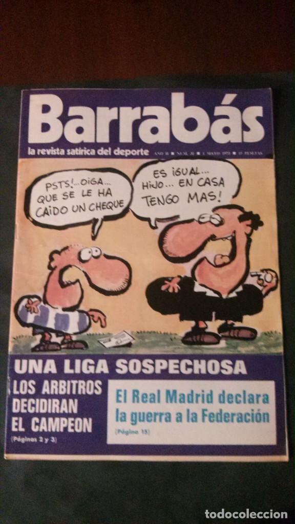BARRABAS 31-1973 (Coleccionismo Deportivo - Revistas y Periódicos - Barrabás)