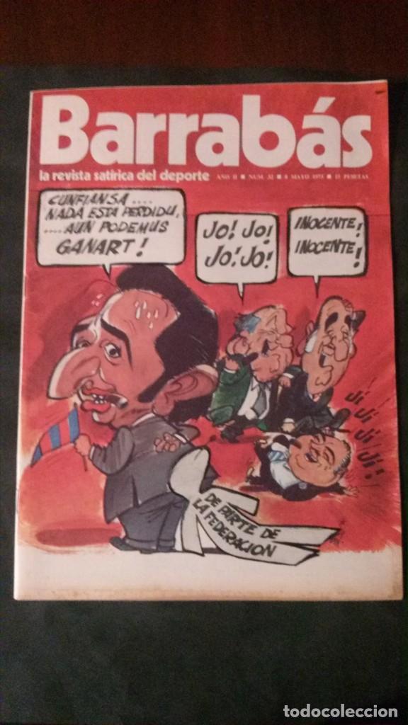 BARRABAS 32-1973 (Coleccionismo Deportivo - Revistas y Periódicos - Barrabás)