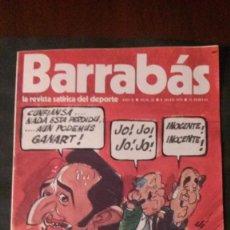 Coleccionismo deportivo: BARRABAS 32-1973. Lote 135910042