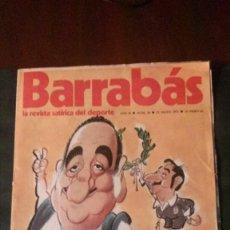 Coleccionismo deportivo: BARRABAS 34-1973. Lote 135910102