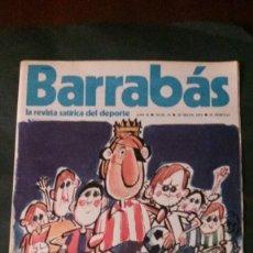 Coleccionismo deportivo: BARRABAS 35-1973. Lote 135910610