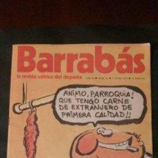 Coleccionismo deportivo: BARRABAS 36-1973. Lote 135910686