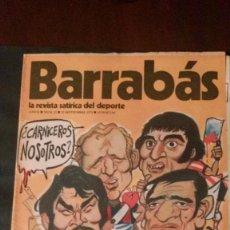 Coleccionismo deportivo: BARRABAS 52-1973. Lote 135911162
