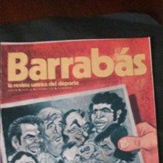 Coleccionismo deportivo: BARRABAS 66-1974. Lote 135911930