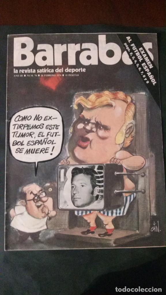 BARRABAS 74-1974 (Coleccionismo Deportivo - Revistas y Periódicos - Barrabás)