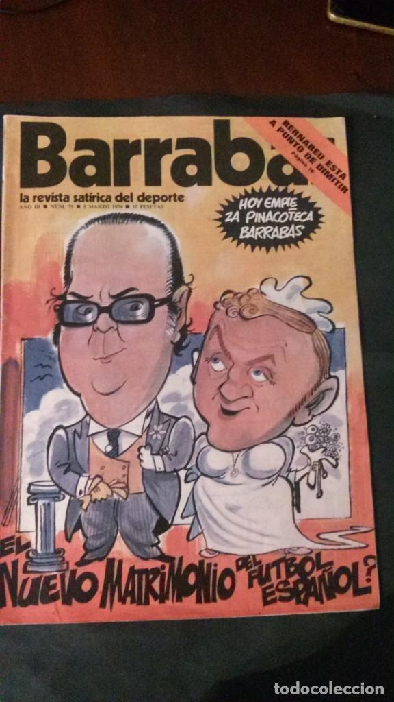BARRABAS 75-1974 (Coleccionismo Deportivo - Revistas y Periódicos - Barrabás)