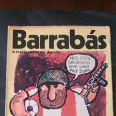 Coleccionismo deportivo: BARRABÁS 3-1972. Lote 142503754