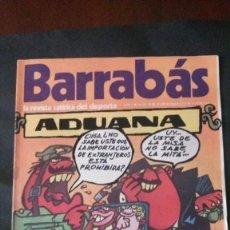 Coleccionismo deportivo: BARRABAS 11-1972. Lote 142504018