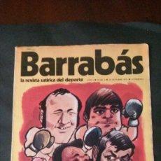 Coleccionismo deportivo: BARRABAS 4-1972. Lote 142504146