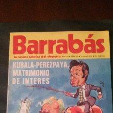 Coleccionismo deportivo: BARRABAS 15-1973. Lote 142504242