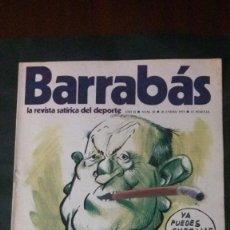 Coleccionismo deportivo: BARRABAS 18-1973. Lote 142504550