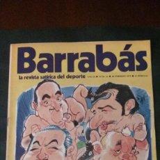 Coleccionismo deportivo: BARRABAS 21-1973. Lote 142504746