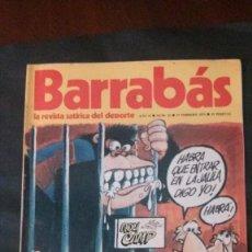 Coleccionismo deportivo: BARRABAS 22-1973. Lote 142504794