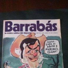 Coleccionismo deportivo: BARRABAS 23-1973. Lote 142504838