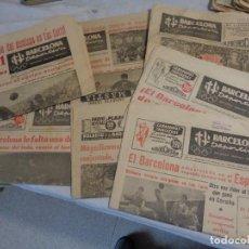 Coleccionismo deportivo: LOTE DE 8 PERIÓDICOS BARCELONA DEPORTIVA. Lote 142521562