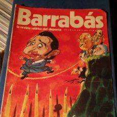 Coleccionismo deportivo: REVISTA BARRABÁS (REVISTASATÍRICA DEL DEPORTE)- N°28, 1973.. Lote 149728664