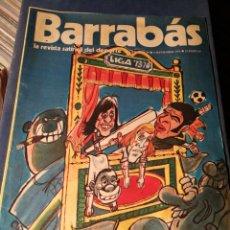 Coleccionismo deportivo: REVISTA BARRABÁS (REVISTASATÍRICA DEL DEPORTE)- N°49, 1973.. Lote 149729900