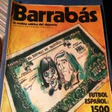 Coleccionismo deportivo: REVISTA BARRABÁS (REVISTASATÍRICA DEL DEPORTE)- N°50, 1973.. Lote 149730648