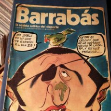 Coleccionismo deportivo: REVISTA BARRABÁS (REVISTASATÍRICA DEL DEPORTE)- N°51, 1973.. Lote 149730772