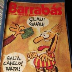 Coleccionismo deportivo: REVISTA BARRABÁS (REVISTASATÍRICA DEL DEPORTE)- N°13, 1972.. Lote 149731412
