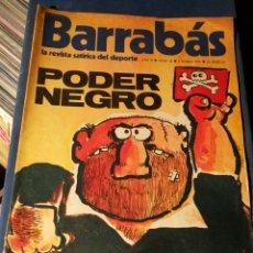 Coleccionismo deportivo: REVISTA BARRABÁS (REVISTASATÍRICA DEL DEPORTE)- N°14, 1973.. Lote 149731629