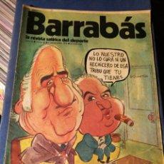 Coleccionismo deportivo: REVISTA BARRABÁS (REVISTASATÍRICA DEL DEPORTE)- N°62, 1973.. Lote 149731828