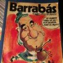 Coleccionismo deportivo: REVISTA BARRABÁS (REVISTASATÍRICA DEL DEPORTE)- N°79, 1974.. Lote 149732241