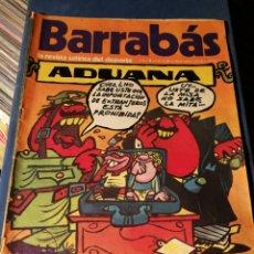 Coleccionismo deportivo: REVISTA BARRABÁS (REVISTASATÍRICA DEL DEPORTE)- N°11, 1972.. Lote 149732876