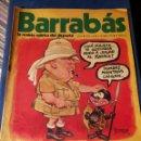 Coleccionismo deportivo: REVISTA BARRABÁS (REVISTASATÍRICA DEL DEPORTE)- N°7, 1972.. Lote 149733825