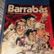 Coleccionismo deportivo: REVISTA BARRABÁS (REVISTASATÍRICA DEL DEPORTE)- N°5, 1972.. Lote 149734720