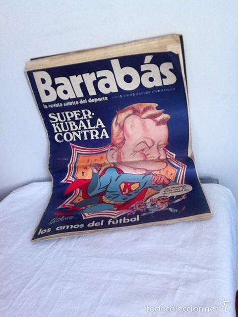 REVISTA BARRABÁS AÑO 1 N 11 1972 (Coleccionismo Deportivo - Revistas y Periódicos - Barrabás)