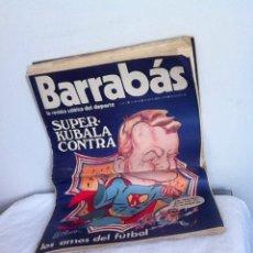 Coleccionismo deportivo: REVISTA BARRABÁS AÑO 1 N 11 1972. Lote 153096001