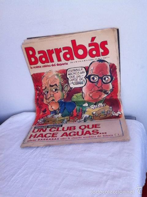 REVISTA BARRABÁS AÑOS II. N 25. 1973 (Coleccionismo Deportivo - Revistas y Periódicos - Barrabás)