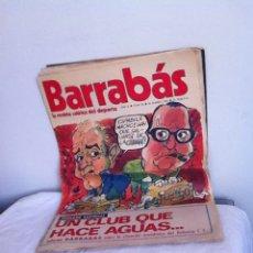 Coleccionismo deportivo: REVISTA BARRABÁS AÑOS II. N 25. 1973. Lote 153096109