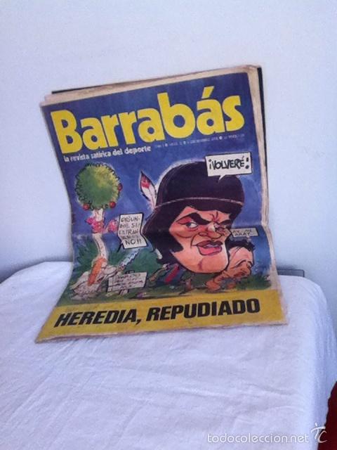 REVISTA BARRABÁS AÑO 1 N 10. 1972 (Coleccionismo Deportivo - Revistas y Periódicos - Barrabás)