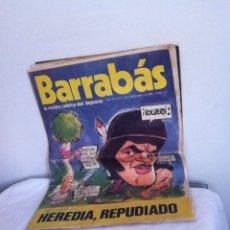 Coleccionismo deportivo: REVISTA BARRABÁS AÑO 1 N 10. 1972. Lote 153096268