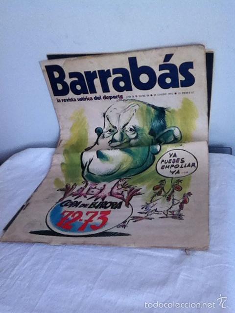 REVISTA BARRABÁS AÑO II N 18. 1973 (Coleccionismo Deportivo - Revistas y Periódicos - Barrabás)