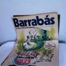 Coleccionismo deportivo: REVISTA BARRABÁS AÑO II N 18. 1973. Lote 153096394