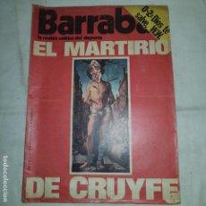 Coleccionismo deportivo: BARRABAS . Nº 177 - 1976. Lote 153475922