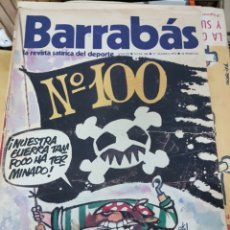 Coleccionismo deportivo: LOTE REVISTAS BARRABAS. Lote 165438908