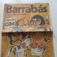 Coleccionismo deportivo: REVISTA - BARRABAS - Nº 52 - CON POSTER CENTRAL DE CHICA - 1973. CX17. Lote 172883254